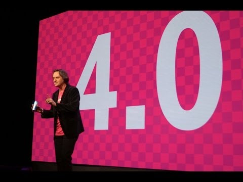 T-Mobile CES Uncarrier 4.0 Keynote