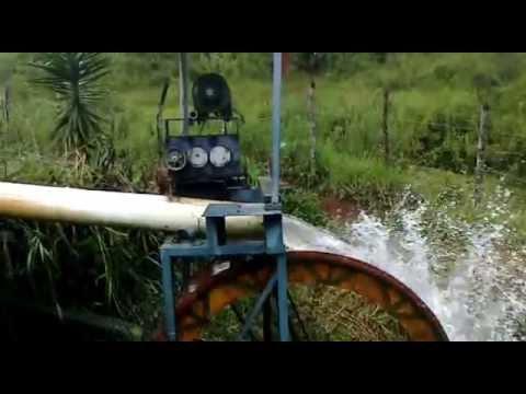Alterima Geradores roda d'agua com gerador baixa rotação 600/1.200 rpm