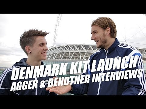 Adidas X Denmark kit launch + Agger and Bendtner interview