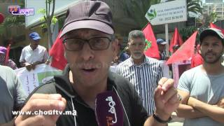 نايضة فأرقى شوارع البيضاء بسبب الصابو..شوفو أشنو قالوا حراس السيارات ( فيديو) |