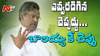Balaiah has immense knowledge: Siri Vennela Seetharama Sas..