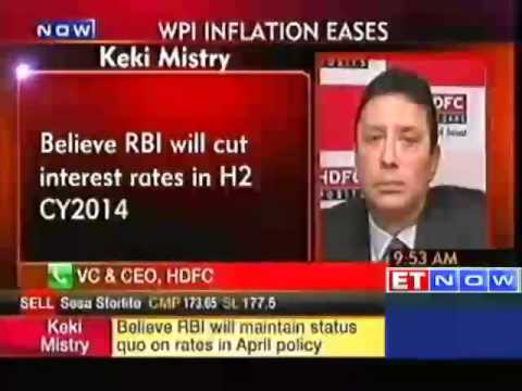 Believe RBI will cut interest rates in H2 CY2014: HDFC