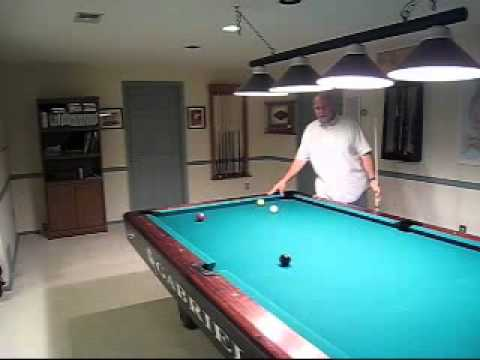 Billiards preshot routine part 2