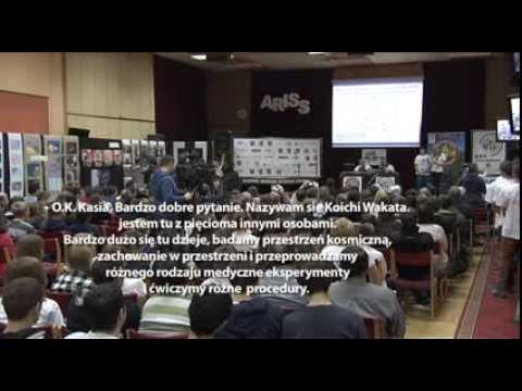 ARISS w ZST Ostrów Wielkopolski - połączenie z astronautą Koichi Wakata (8.01.2014)