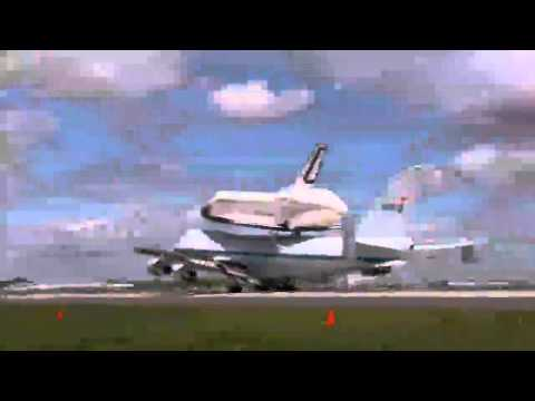 NASA Transports Space Shuttle Enterprise to New York -zZ7QP7cb0Sw