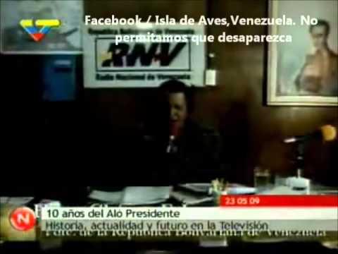 Isla de Aves, venezuela - Aló Presidente
