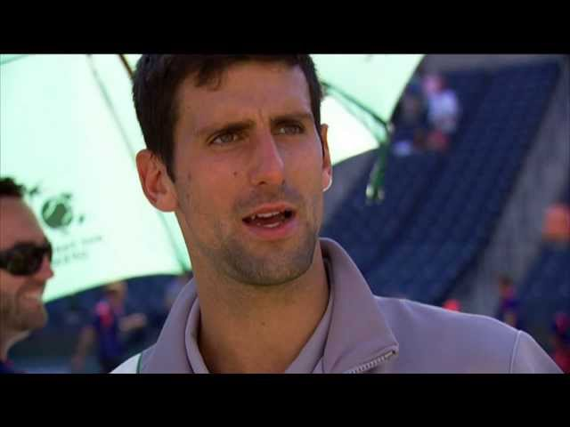 Indian Wells 2014 Final Interview Djokovic