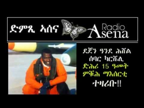 Voice of Assenna: Interview with Pilot-Prisoner, Dejen  - 7th & Final Part - Mon, June 2nd, 2014