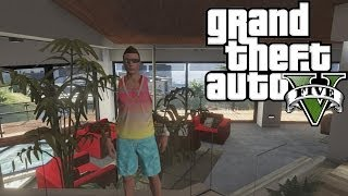 Gta 5 Online How To Get Into Franklin's House!