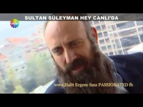 Halit Ergenc interview in ''SHOW tv''14/4/2014 (english translation,below)