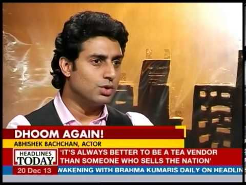 Abhishek Bachchan talks about Dhoom 1 and Dhoom 2
