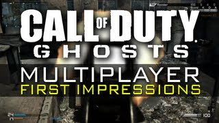 CoD Ghosts Online Gameplay Clips | First Impressions of Ghosts MP