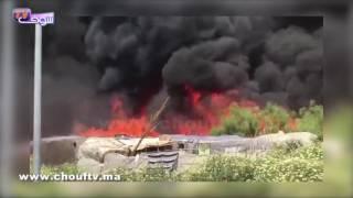 بالفيديو..حريق يلتهم مساكن الجالية المغربية باسبانيا..شوفو أشنو وقع |