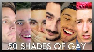 Gay Men Read Heterosexual Erotic Novel 50 Shades of Grey