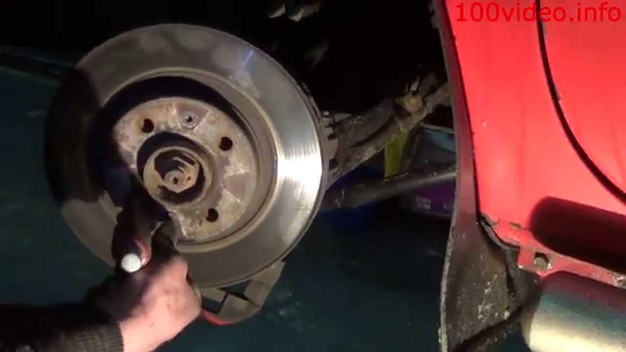 ford s-max замена тормозных дисков