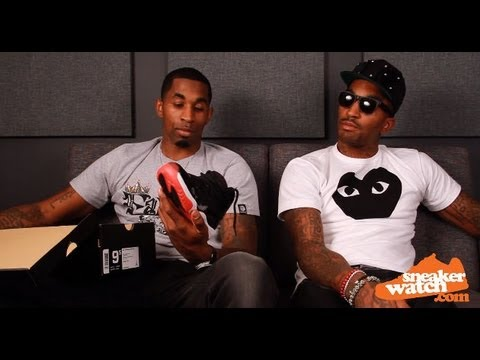 JR Smith & Chris Smith Weigh In On New Jordans