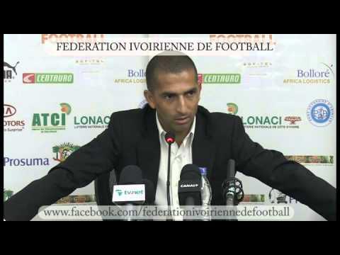 Conférence de presse Sabri lamouchi - 7oct2013