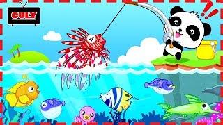 Trò chơi câu cá cùng với gấu trúc Panda Fishing game cu lỳ chơi game lồng tiếng vui nhộn