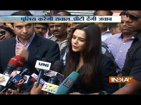 Preity Zinta returns from US to record her statement