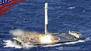 ファルコン9(再利用ロケット)の打ち上げと無人船への垂直着陸