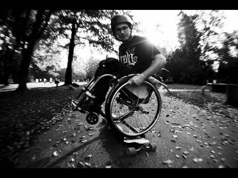 Wheelchair Longboarding 2013