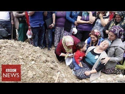 Turkey's worst mine disaster in 45 seconds