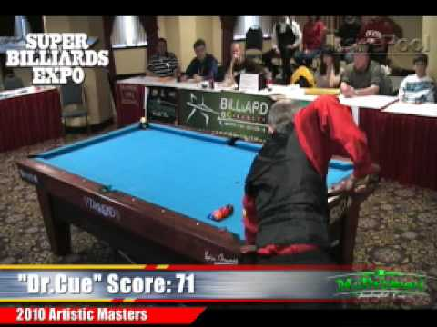 Tom Rossman vs Nick Nickolaidis at the Artistic Pool Masters