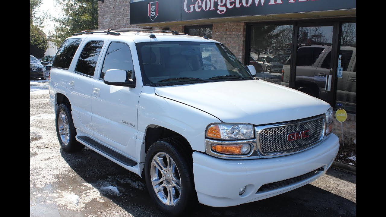 used 2005 gmc yukon denali dvd for sale georgetown auto sales ky kentucky sold youtube. Black Bedroom Furniture Sets. Home Design Ideas