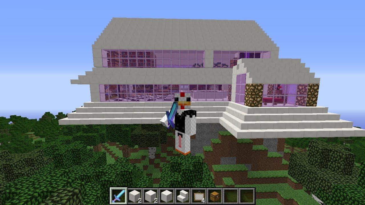 Descargar casa moderna para minecraft 1 7 2 2014 youtube for Casa moderna 2014 espositori