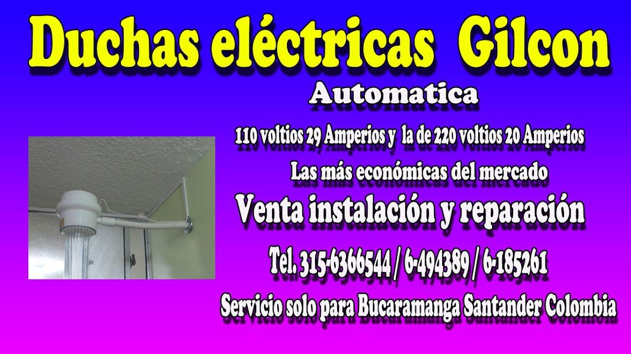 Duchas el ctricas gilcon en bucaramanga tel 6 185261 for Duchas grival colombia
