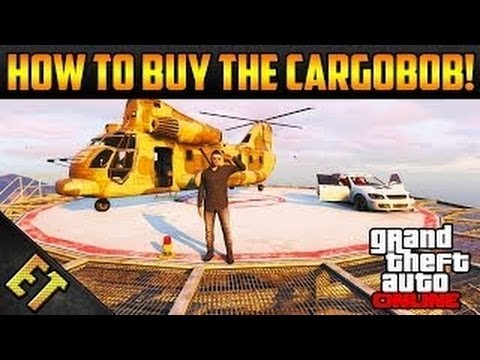 GTA 5 Online: How To Buy The Cargobob From Pegasus After Patch 1.11! (No Lag Switch Required)