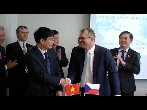 VNPT - Việt Nam và Novicom - Cộng hòa Séc hợp tác về an ninh mạng