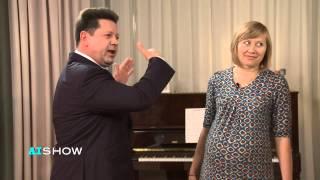 Provocare AISHOW: Ștefan Gațcan - exerciții pentru gravide