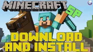 How To Download And Install Minecraft SP 1.8 + All