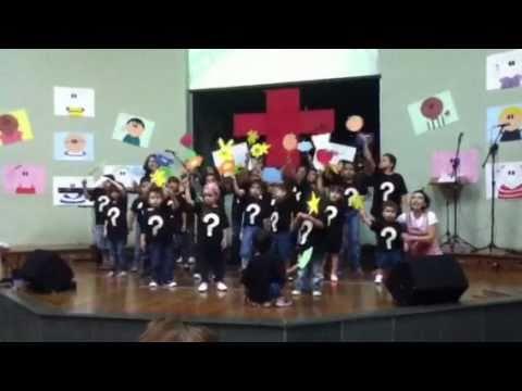 Cantata de Pascoa 2011 do ministério infantil da Shalom - Igreja Evangelica da Paz