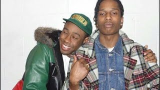 Tyler, The Creator and A$AP Rocky being cute for 8 minutes and 24 seconds straight