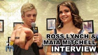 "Ross Lynch & Maia Mitchell Talk ""Teen Beach Movie"" Sequel"