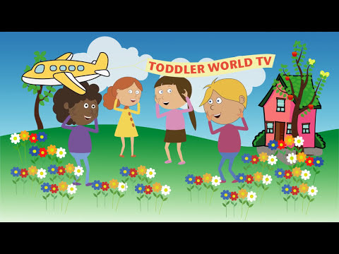 Body parts song for kids |
