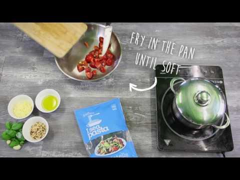 Organic Seaweed Pasta