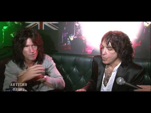ROCK HALL INDUCTEES KISS PRESS CONFERENCE AND INTERVIEW 2012