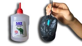 NTN - Trò Đùa Dán Keo 502 Vào Chuột ( Prank Glue )