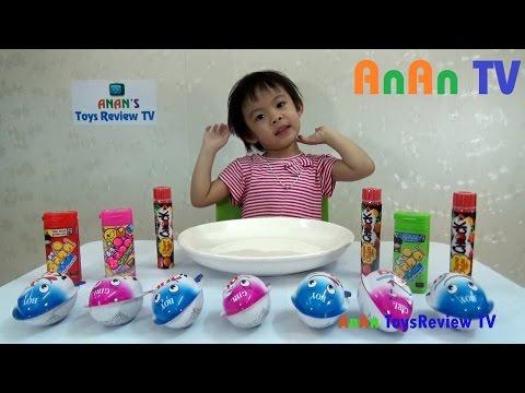 Trò chơi bóc trứng Socola - Bóc kẹo trứng Socola - Surprise Chocolate eggs ❤ Anan ToysReview TV ❤
