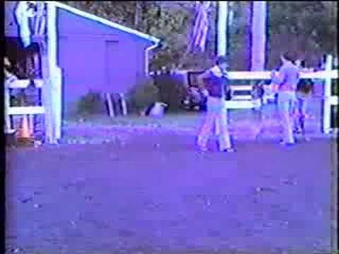 Gymkhana part 1 1981 Betamax footage Milford, PA