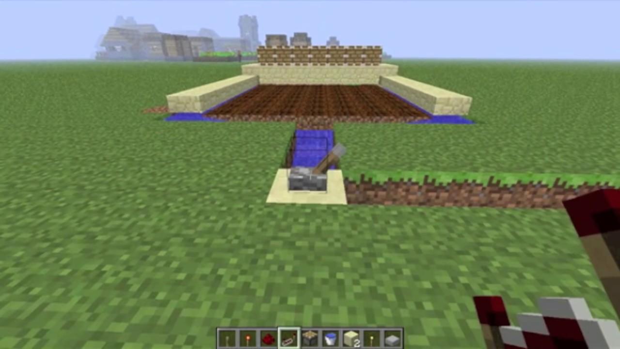 Build An Automatic Wheat Farm In Minecraft