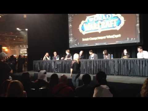 BlizzCon 2013 World of Warcraft Mists of Pandaria Voice Actors Panel