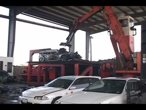 Crush Em !!! ...illegal street racers cars crushed