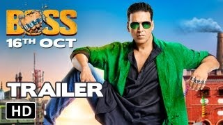 BOSS Official HD Trailer Akshay Kumar BOSS 2013