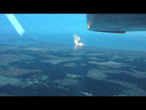 Orbital Sciences Antares Explosion at Wallops from 3000ft
