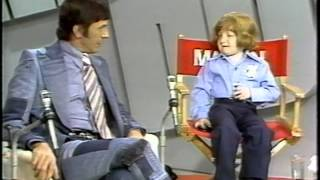 Mason Reese and Leonard Nimoy on Mike Douglas