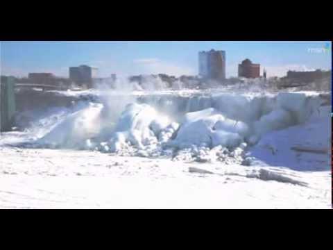 Niagara Falls Global Warming Freeze